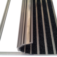 Stergator de intrare din aluminiu DOORMAT G5 HD6017 Carpet