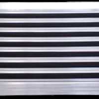 Stergator de intrare din aluminiu DOORMAT L45 Rubber