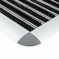 Stergator cu insertii perie si textil DOORMAT 12/BT HO 90 x 50 Premium